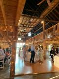 Dancing and Food in the Smith Barn